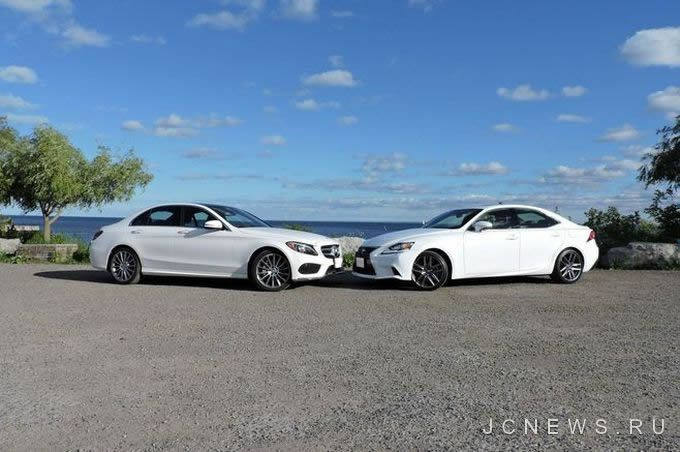 Японцы и немцы: Lexus IS 350 F Sport vs Mercedes-Benz C 400